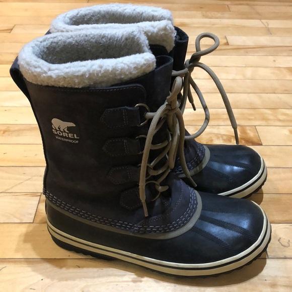Premium Leather Upper Sorel Boots